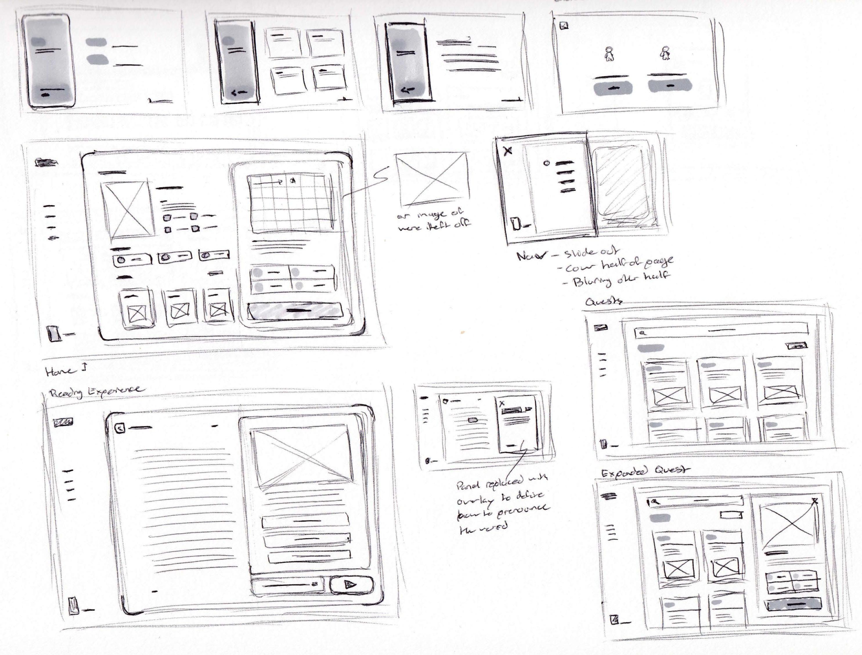 Paper prototypes 01